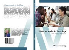 Buchcover von Wissenstransfer in der Pflege