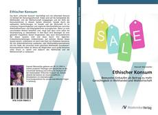 Portada del libro de Ethischer Konsum