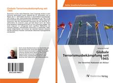 Bookcover of Globale Terrorismusbekämpfung seit 1945