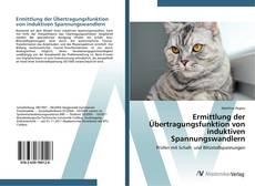 Bookcover of Ermittlung der Übertragungsfunktion von induktiven Spannungswandlern