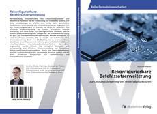 Buchcover von Rekonfigurierbare Befehlssatzerweiterung