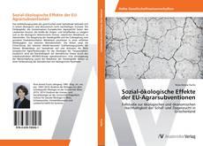 Buchcover von Sozial-ökologische Effekte der EU-Agrarsubventionen