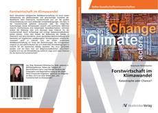 Buchcover von Forstwirtschaft im Klimawandel