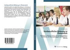 Couverture de Vorberufliche Bildung in Österreich