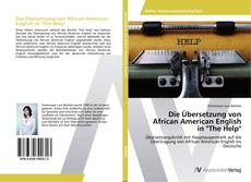 "Bookcover of Die Übersetzung von African American English in ""The Help"""