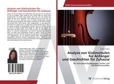 Bookcover of Analyse von Violinschulen für Anfänger und Geschichten für Zuhause