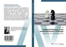 Couverture de Implementierung einer wertorientierten Strategie