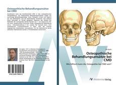 Bookcover of Osteopathische Behandlungsansätze bei CMD