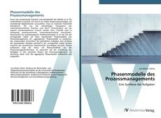 Couverture de Phasenmodelle des Prozessmanagements