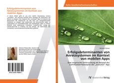Buchcover von Erfolgsdeterminanten von Anreizsystemen im Kontext von mobilen Apps