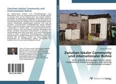 Capa do livro de Zwischen lokaler Community und internationaler Bühne