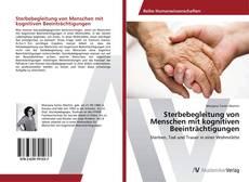 Capa do livro de Sterbebegleitung von Menschen mit kognitiven Beeinträchtigungen