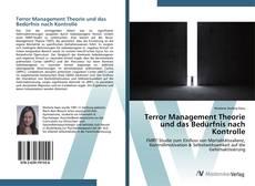 Buchcover von Terror Management Theorie und das Bedürfnis nach Kontrolle