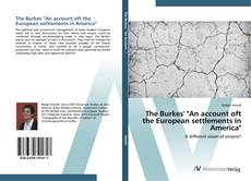 "Couverture de The Burkes' ""An account oft the European settlements in America"""
