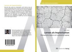 Bookcover of Lernen als Improvisation