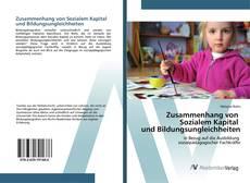 Buchcover von Zusammenhang von Sozialem Kapital und Bildungsungleichheiten