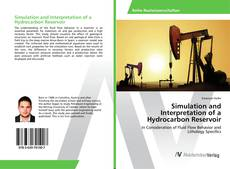 Couverture de Simulation and Interpretation of a Hydrocarbon Reservoir