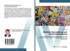 Buchcover von Mediale Darstellung von Auslandseinsätzen