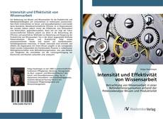 Buchcover von Intensität und Effektivität von Wissensarbeit