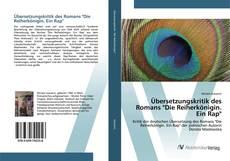 """Bookcover of Übersetzungskritik des Romans """"Die Reiherkönigin. Ein Rap"""""""