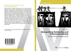 Dismantling Patriarchy and Heteronormativity kitap kapağı