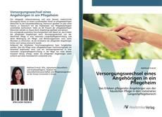 Capa do livro de Versorgungswechsel eines Angehörigen in ein Pflegeheim