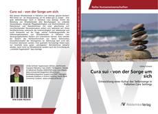 Buchcover von Cura sui - von der Sorge um sich