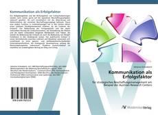 Buchcover von Kommunikation als Erfolgsfaktor