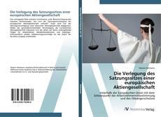 Bookcover of Die Verlegung des Satzungssitzes einer europäischen Aktiengesellschaft