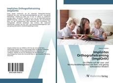 Copertina di Implizites Orthografietraining (ImplOrth)