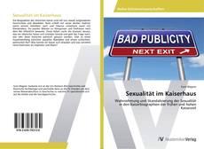 Sexualität im Kaiserhaus kitap kapağı