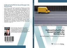 Buchcover von Volkswirtschaftliche Auswirkungen der Bemautung