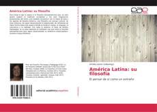 Buchcover von América Latina: su filosofía