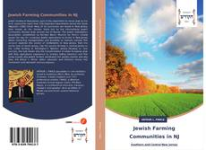 Capa do livro de Jewish Farming Communities in NJ
