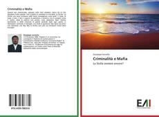Bookcover of Criminalità e Mafia