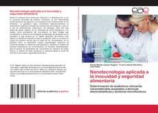 Portada del libro de Nanotecnología aplicada a la inocuidad y seguridad alimentaria