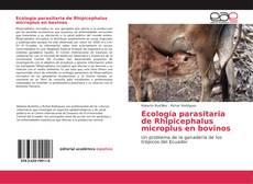 Ecología parasitaria de Rhipicephalus microplus en bovinos的封面