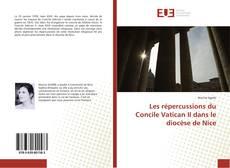 Portada del libro de Les répercussions du Concile Vatican II dans le diocèse de Nice