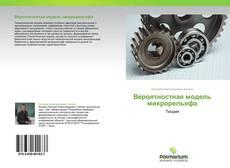 Bookcover of Вероятностная модель микрорельефа