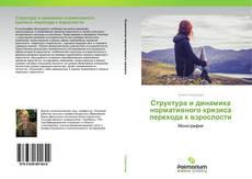 Обложка Структура и динамика нормативного кризиса перехода к взрослости