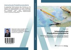 Bookcover of Internationale Produktionsstandorte
