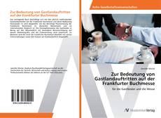 Copertina di Zur Bedeutung von Gastlandauftritten auf der Frankfurter Buchmesse
