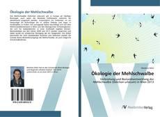 Bookcover of Ökologie der Mehlschwalbe