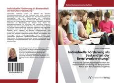 Borítókép a  Individuelle Förderung als Bestandteil der Berufsvorbereitung? - hoz