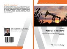 Bookcover of Peak Oil in Russland