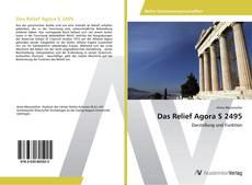 Buchcover von Das Relief Agora S 2495