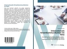 Bookcover of Internationale Krisenkommunikation im Netz
