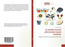 Capa do livro de Le samba comme phénomène social brésilien