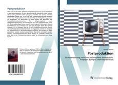 Buchcover von Postproduktion