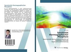 Bookcover of Sensitivität thermographischer Phosphore